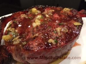 Tenderloin with steakhouse butter WM