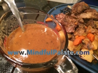 New England Pot Roast Gravy WM