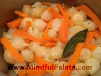 Pearl Onions Carrots Braised