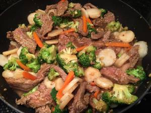 BeefBroccoliCarrot Stir Fry