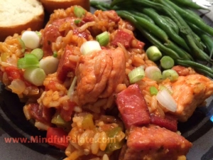 Jambalaya plated WM