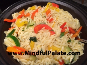 Orzo with Veggies WM