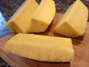 Pineapple Quartered
