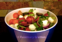 Rosemarys Tomato Bocconcini salad WM
