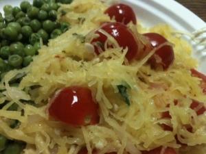 Squash Tomatoes Basil
