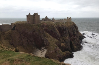 Stonehaven and Dunnattar Castle WM