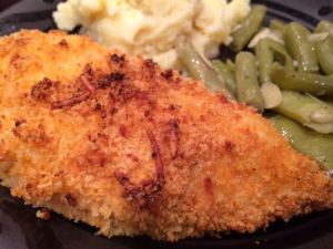 panko oven fried chicken