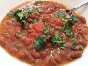 Pinto bean soup2