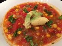corn tomato chile soup