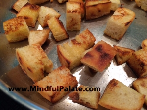 Garlic Croutons WM